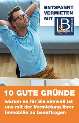 10 Gründe Loch & Braunsdorf mit dem vermieten zu beauftragen